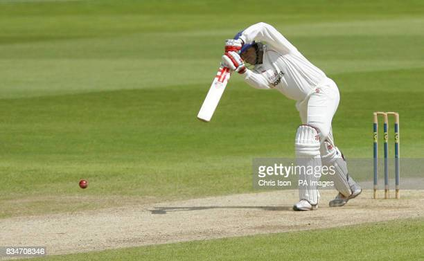 Lancashire captain Stuart Law batting against Hampshire the final day of their Liverpool Victoria County Championship match at the Rose Bowl...