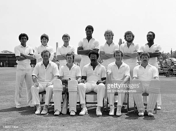Lancashire county cricket team circa May 1982 Back row John Abrahams Ian Folley Graeme Fowler Colin Croft Ian Cockbain Chris Maynard Les McFarlane...