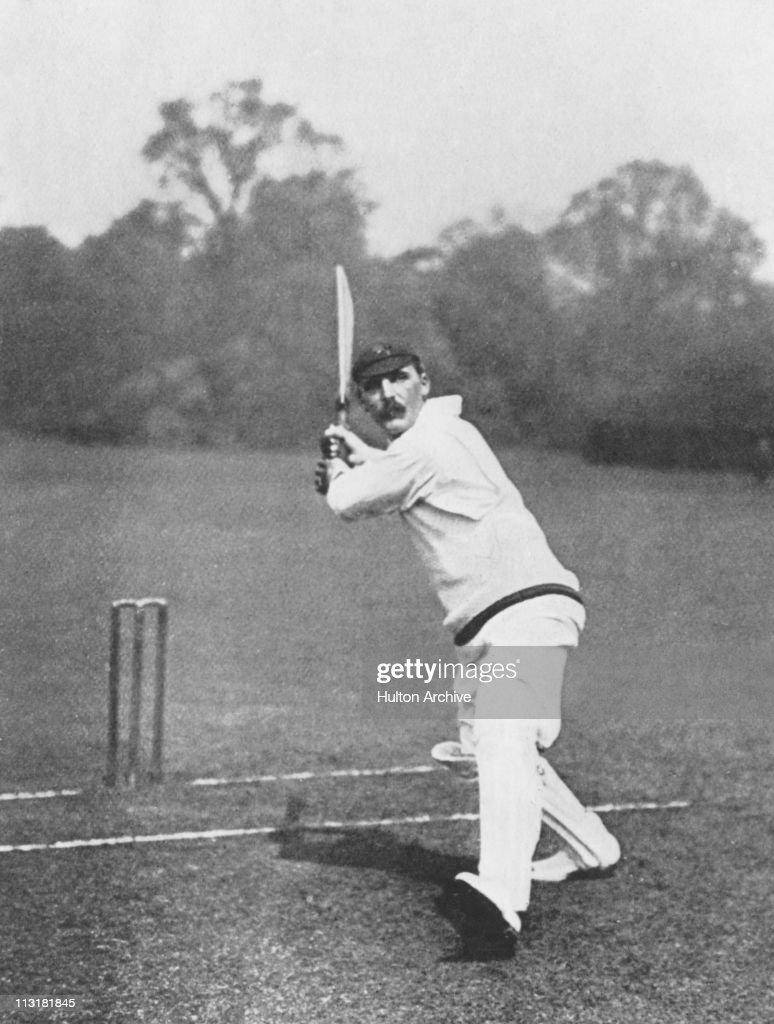 Lancashire cricketer Archibald Campbell MacLaren circa 1910