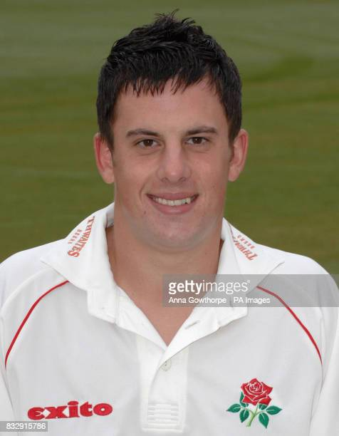 Lancashire's Steven Mullaney during a press day at Old Trafford Cricket Ground Manchester