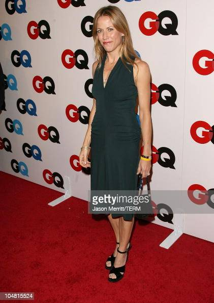 Lance Armstrong and Sheryl Crow during GQ Celebrates 2005 Men of the Year Arrivals at Mr Chow in Beverly Hills California United States