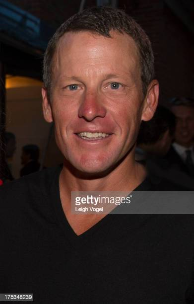 Lance Armstrong attends Aspen Art Museum 2013 ArtCrush Summer Benefit at Aspen Art Museum on August 2 2013 in Aspen Colorado