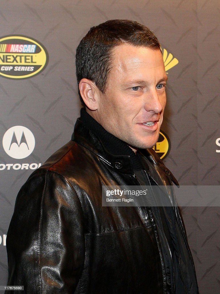 Lance Armstrong attends the 2007 NASCAR NEXTEL Cup Series Champion's Party at Marquee, November 29, 2007, New York, New York.
