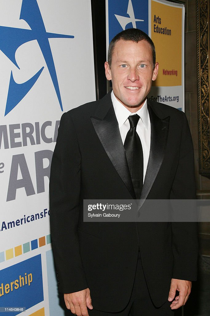Lance Armstrong during Americans For The Arts National Arts Awards 2006 Inside Arrivals and event at Cipriani 42nd Street in New York City New York...