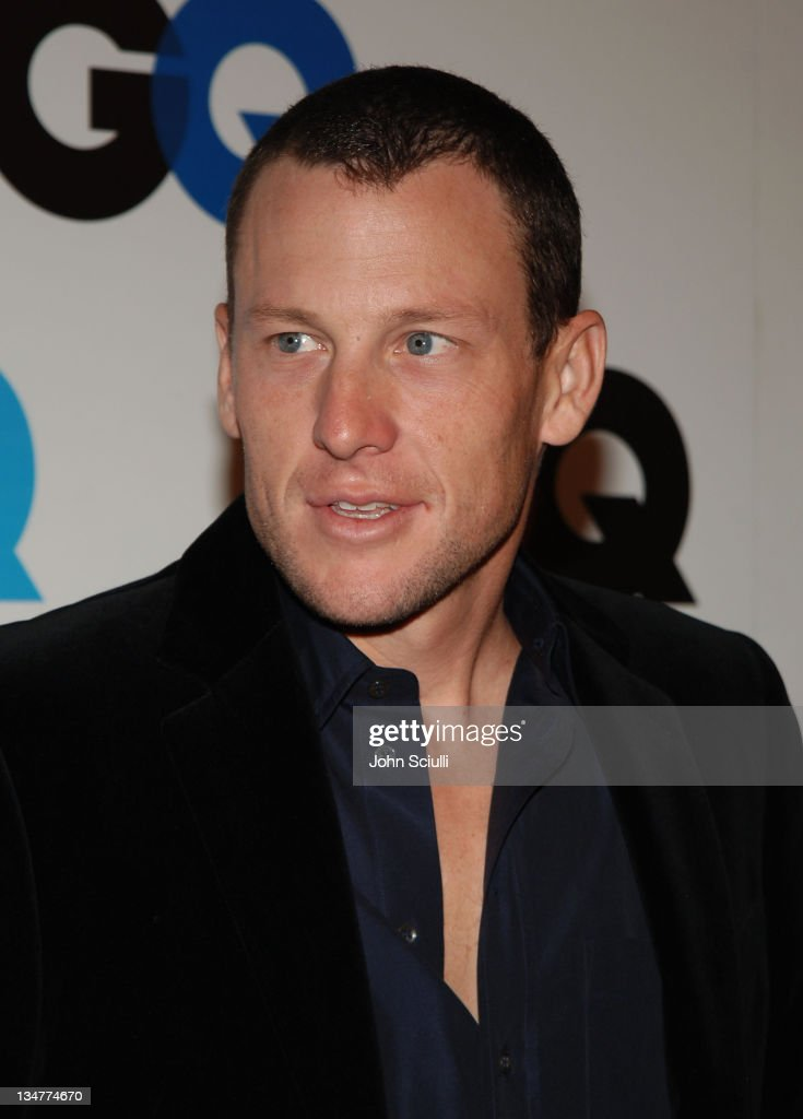 Lance Armstrong during GQ Magazine Celebrates the 2005 Men of the Year - Arrivals at Mr Chow in Beverly Hills, California, United States.