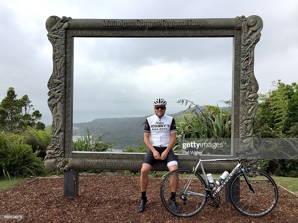 Lance Armstrong Visits Auckland