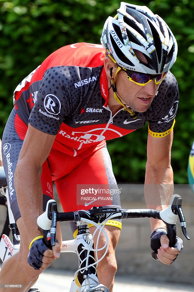 US Lance Armstrong rides during the 'Tour of Luxembourg' last stage on June 6, 2010 in Luxembourg. Spain's Gorka Izaguirre won the stage as Matteo Carrara won the race ahead of Luxembourg's Franck Schleck and Lance Armstrong.