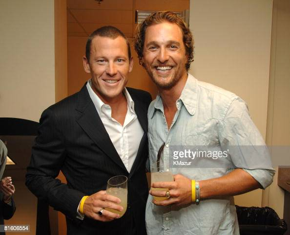 Lance Armstrong winner Best Male Athlete and Matthew McConaughey **Exclusive**
