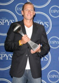 Lance Armstrong winner of Best Male Athlete during 2006 ESPY Awards Press Room at Kodak Theatre in Los Angeles California United States