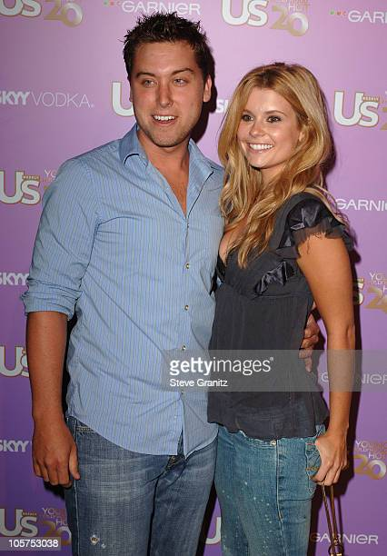 Lance Bass and Joanna Garcia during US Weekly's Young Hollywood Hot 20 in Los Angeles California United States
