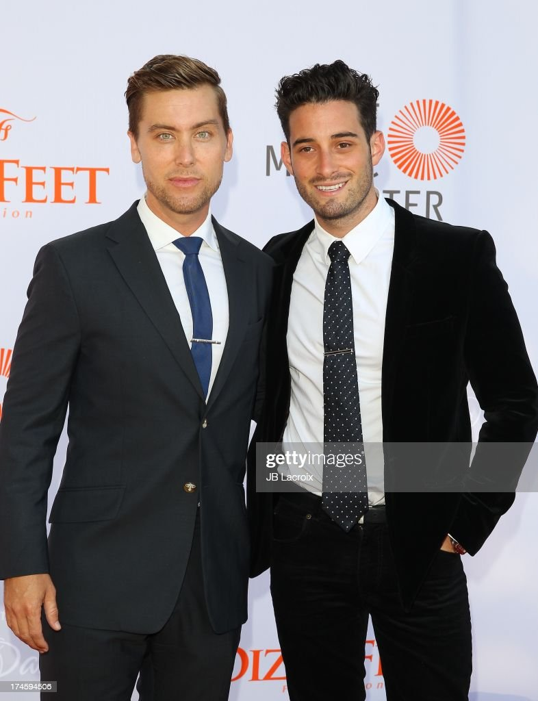 <a gi-track='captionPersonalityLinkClicked' href=/galleries/search?phrase=Lance+Bass&family=editorial&specificpeople=210566 ng-click='$event.stopPropagation()'>Lance Bass</a> and Michael Turchin attend the 3rd Annual Celebration Of Dance Gala held at Dorothy Chandler Pavilion on July 27, 2013 in Los Angeles, California.