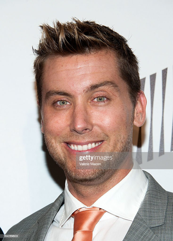 Lance Bass arrives at 'An Evening' Benefiting The L.A. Gay & Lesbian Center at the Beverly Wilshire Four Seasons Hotel on March 21, 2013 in Beverly Hills, California.