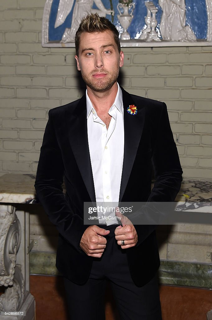 Lance Bass attends 2016 Logo's Trailblazer Honors at Cathedral of St. John the Divine on June 23, 2016 in New York City.