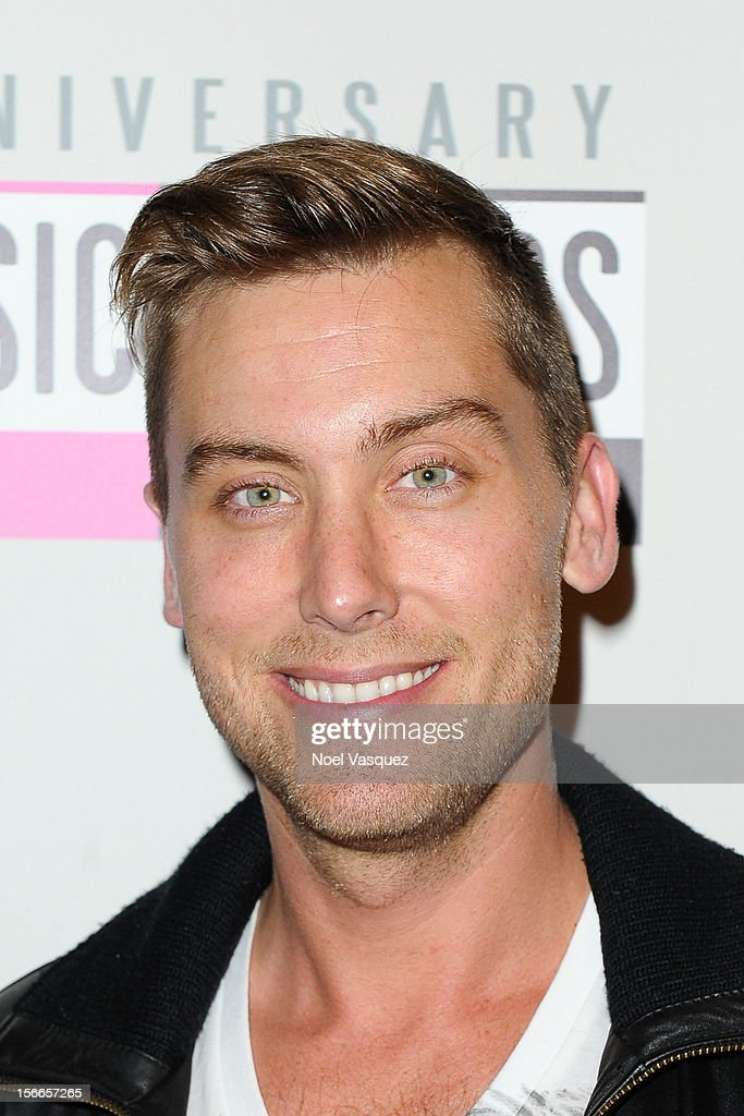 <a gi-track='captionPersonalityLinkClicked' href=/galleries/search?phrase=Lance+Bass&family=editorial&specificpeople=210566 ng-click='$event.stopPropagation()'>Lance Bass</a> attends the 40th Anniversary American Music Awards Charity Bowl Pre-Party at Lucky Strike Lanes at L.A. Live on November 17, 2012 in Los Angeles, California.