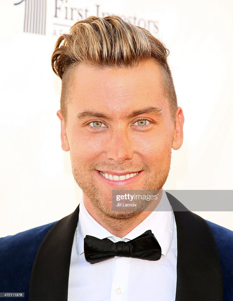 Lance Bass attends the GMCLA's 4th annual Voice Awards at The Globe Theatre at Universal Studios on May 3 2015 in Universal City California