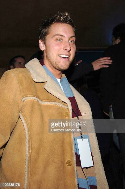 Lance Bass during 2004 Park City Blender Sessions Rocks Sundance With Five Nights Of Music Day 1 at Harry O's in Park City Utah United States