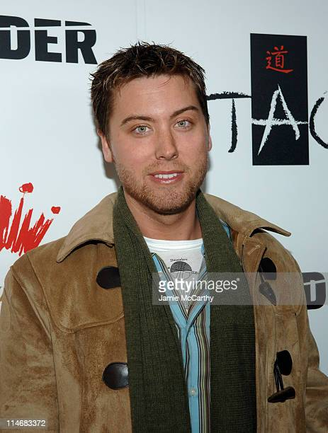Lance Bass during 2007 Park City Bud Select Presents Blender Sessions at Tao Park City Hosted by Nelly Arrivals at Harry O's in Park City Utah United...