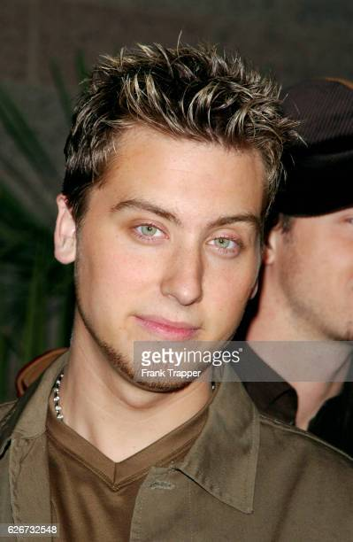 Lance Bass of *NSYNC arrives at the 2001 Billboard Music Awards held at the MGM Grand Hotel and Casino