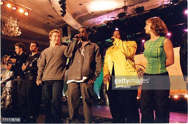 Lance Bass Sean 'Puffy' Combs Kenan Thompson Britney Spears