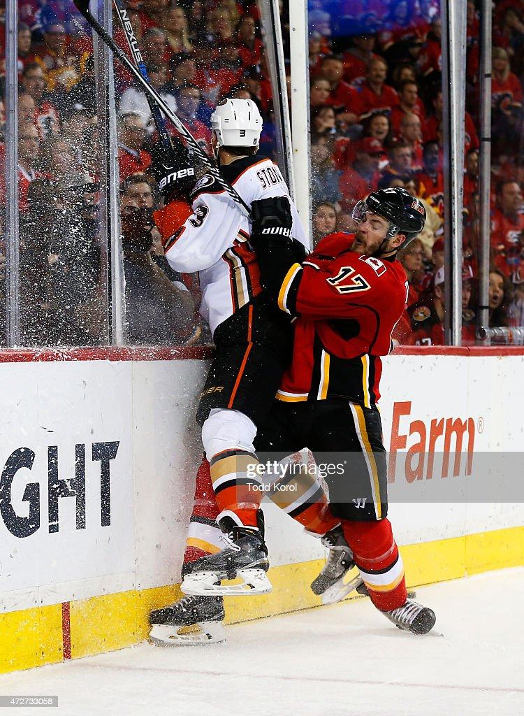 Anaheim Ducks v Calgary Flames - Game Four
