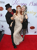 Actress Ainsley Ross Birthday Party  Benefiting The...