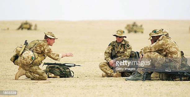 Lance Corporal Stuart Malone from Belfast Northern Ireland serving with the 1st Battalion of The Royal Irish Regiment takes the soldiers in his...
