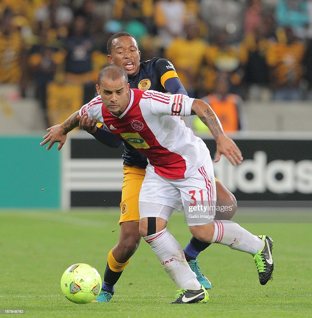 Lance Davids of Ajax CT during the Absa Premiership match between Ajax Cape Town and Kaizer Chiefs at Cape Town Stadium on May 01 2013 in Cape Town...