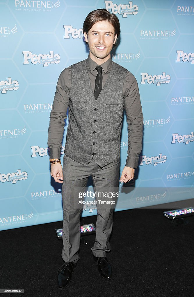 Lance dos Ramos arrives at the Estrellas Del Ano De People En Espanol party at The James Royal Palm Hotel on December 12, 2013 in Miami, Florida.