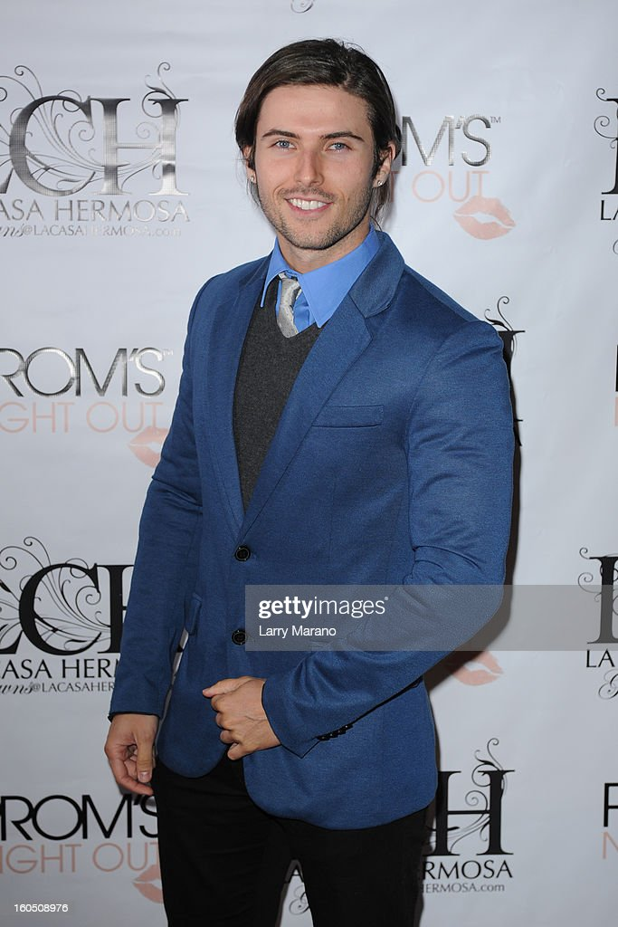 Lance Dos Ramos attends Prom's Night Out At La Casa Hermosa on February 1, 2013 in Wellington, Florida.