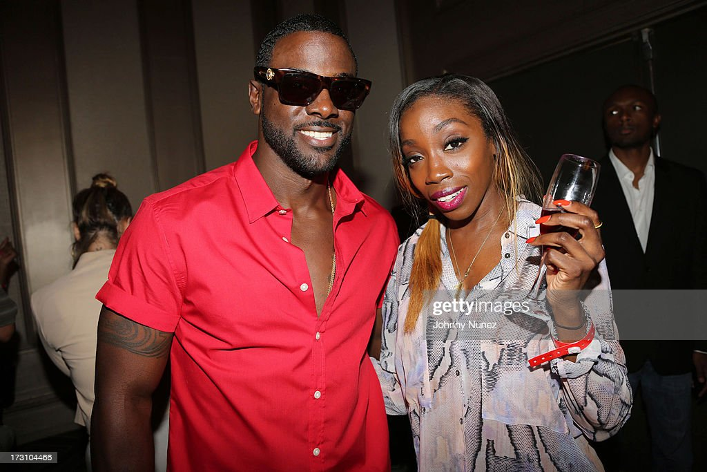 <a gi-track='captionPersonalityLinkClicked' href=/galleries/search?phrase=Lance+Gross&family=editorial&specificpeople=4083742 ng-click='$event.stopPropagation()'>Lance Gross</a> and <a gi-track='captionPersonalityLinkClicked' href=/galleries/search?phrase=Estelle+-+Singer&family=editorial&specificpeople=206205 ng-click='$event.stopPropagation()'>Estelle</a> attend the Essence Day party at the W New Orleans on July 6, 2013 in New Orleans, Louisiana.