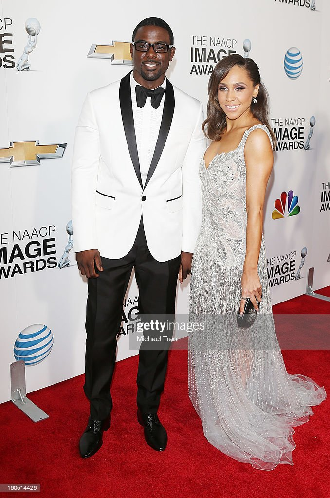 Lance Gross arrives at the 44th NAACP Image Awards held at The Shrine Auditorium on February 1, 2013 in Los Angeles, California.