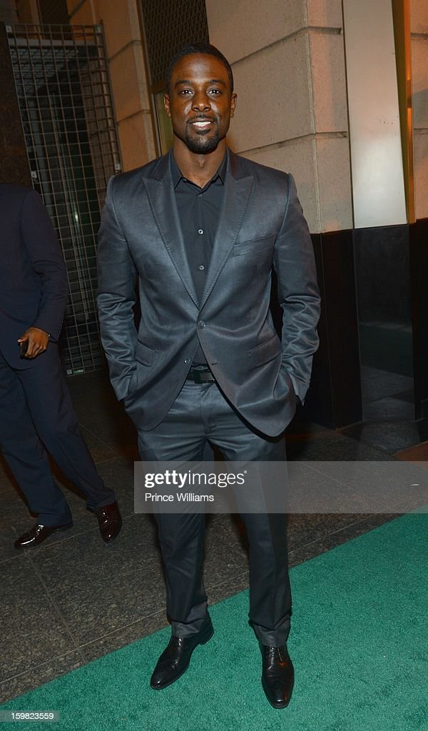 Lance Gross attends The Hip-Hop Inaugural Ball II at Harman Center for the Arts on January 20, 2013 in Washington, DC.