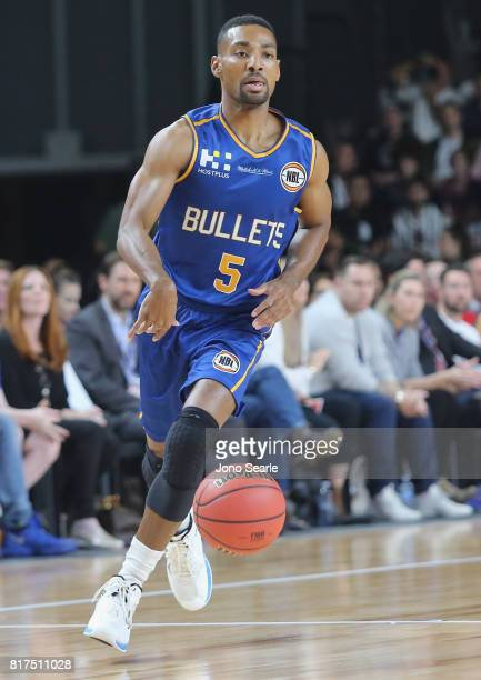 Lance Hurdle of the Bullets during the match between the Brisbane Bullets and China at the Gold Coast Sports Leisure Centre on July 18 2017 in Gold...