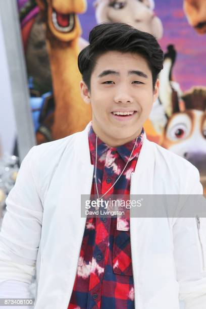 Lance Lim arrives at the Premiere of Columbia Pictures' 'The Star' at the Regency Village Theatre on November 12 2017 in Westwood California