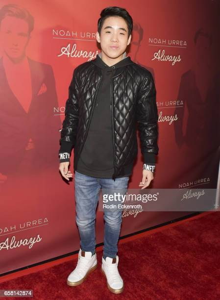Lance Lim attends Noah Urrea's 16th Birthday with EP Release Party at Avalon Hollywood on March 26 2017 in Los Angeles California