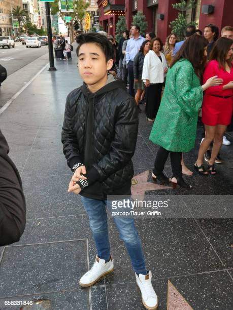 Lance Lim is seen on March 26 2017 in Los Angeles California