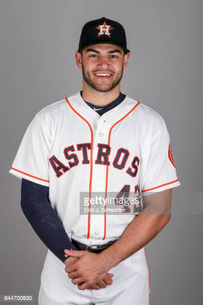 Lance McCullers of the Houston Astros poses during Photo Day on Sunday February 19 2017 at the Ballpark of the Palm Beaches in West Palm Beach Florida