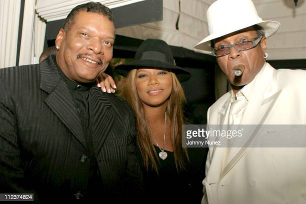 Lance Owens his daughter Queen Latifah and George Daniels of George's Music Room