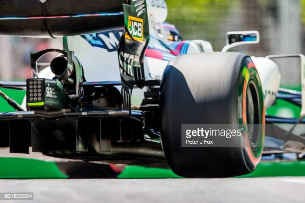 Lance Stroll of Canada and Williams during the Azerbaijan Formula One Grand Prix at Baku City Circuit on June 25 2017 in Baku Azerbaijan