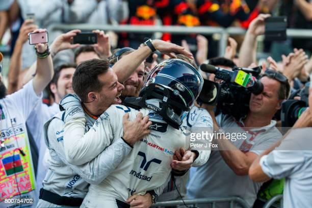Lance Stroll of Williams and Canada during the Azerbaijan Formula One Grand Prix at Baku City Circuit on June 25 2017 in Baku Azerbaijan