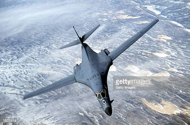 Lancer is a longrange strategic bomber capable of flying intercontinental missions without refueling and penetrating present and future sophisticated...