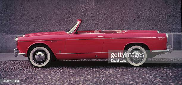 Lancia Appia convertable motor car designed by Vignale