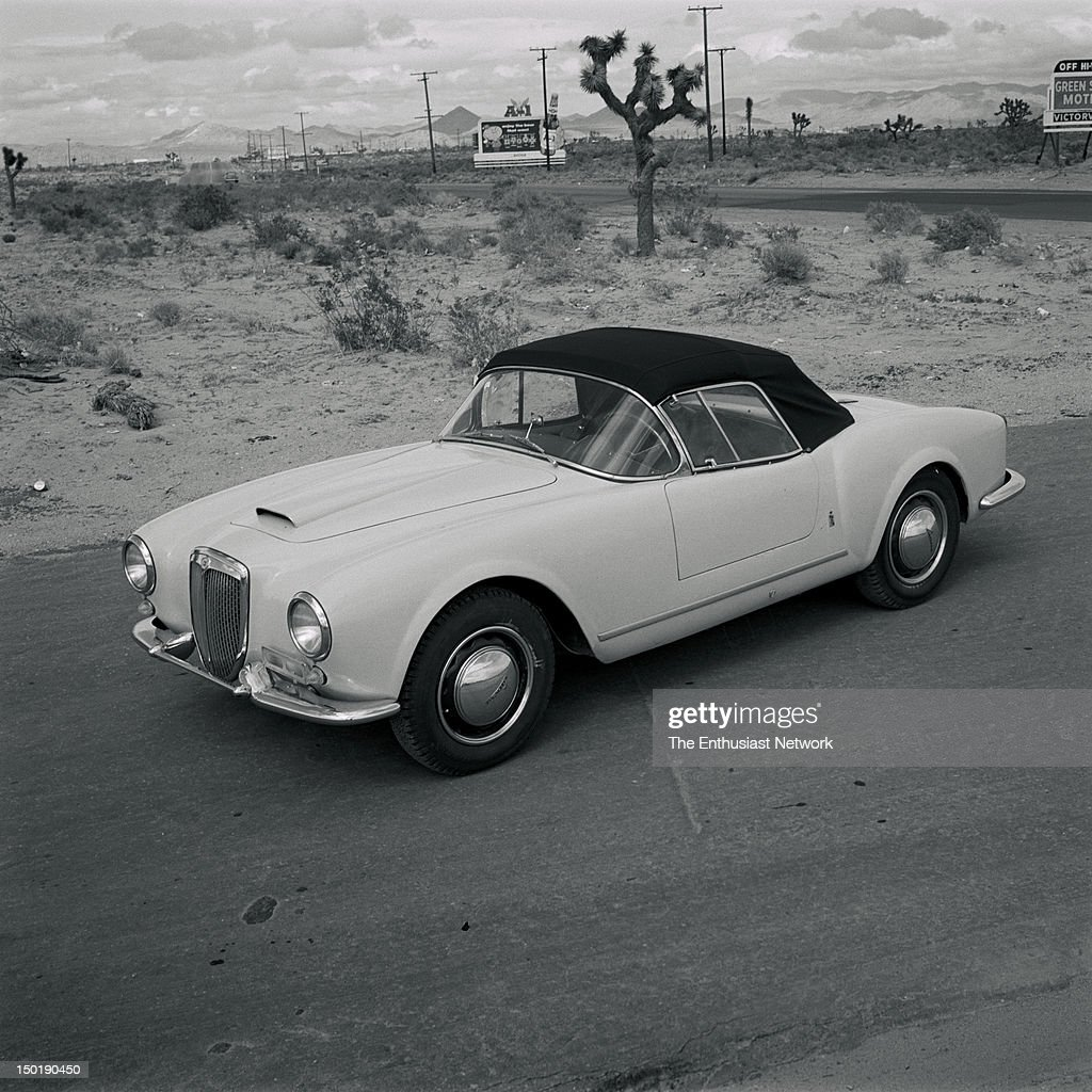 http://media.gettyimages.com/photos/lancia-aurellia-b-24-road-test-motor-trend-magazine-august-1956-road-picture-id150190450