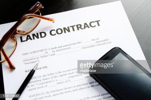 land の契約