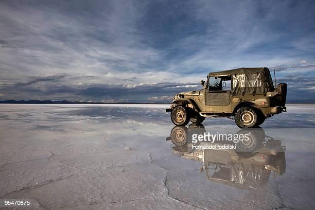 Land Cruiser in Uyuni, Bolívia