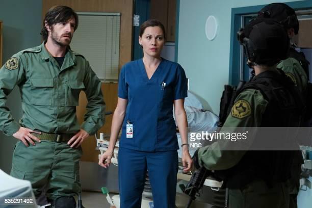 SHIFT 'Land Of The free' Episode 409 Pictured Eoin Macken as TC Callahan Jill Flint as Jordan Alexander