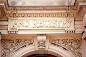 Land registry on ornate building