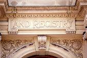Land registry on ornate building