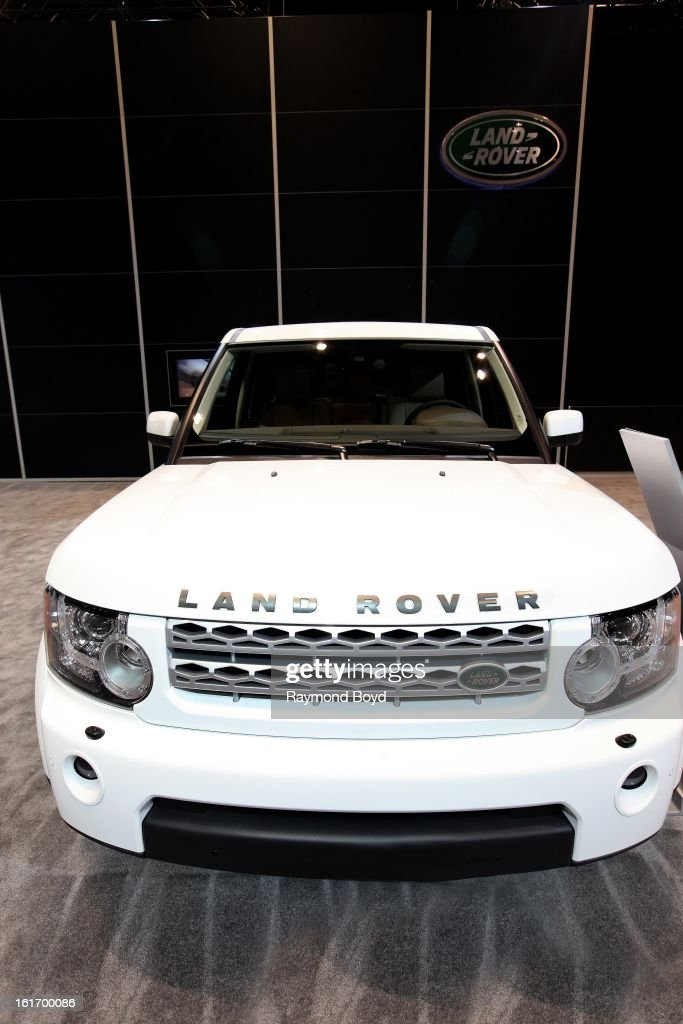 Land Rover LR4, at the 105th Annual Chicago Auto Show at McCormick Place in Chicago, Illinois on FEBRUARY