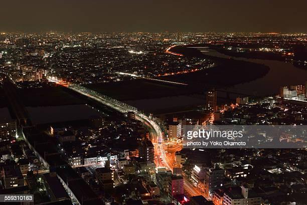 Landccape of Chiba & Tokyo